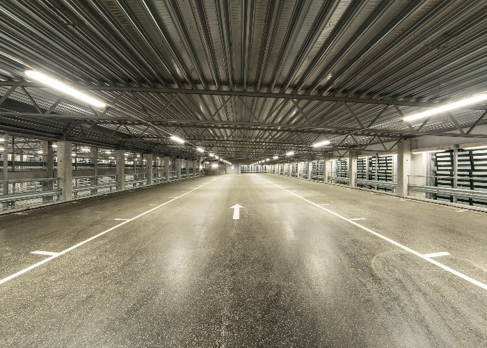 Parking facility in Helsingborg