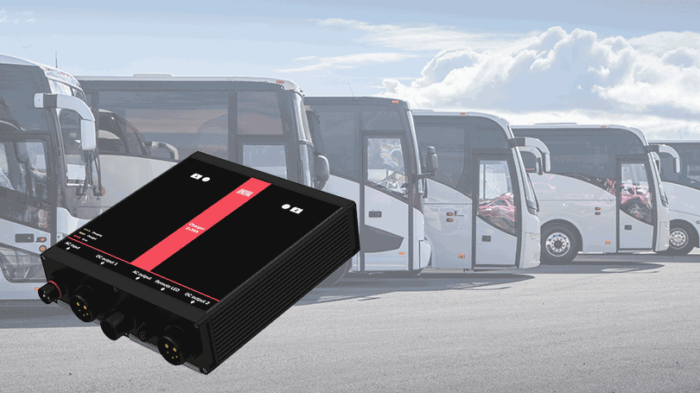 Busses and battery charger
