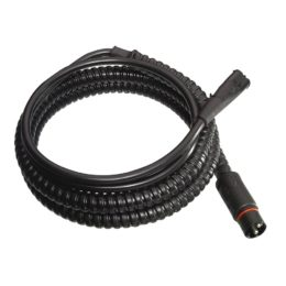 Extension cable for Termini interior heater, coiled, white background